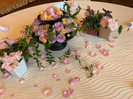 春夏秋冬をイメージしたテーブルコーディネート