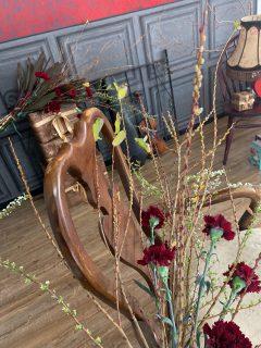 スタジオセットのお花をするのは夢のひとつ