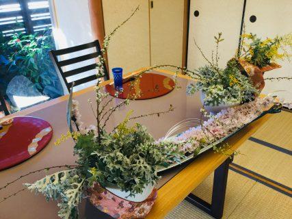 お祝いのお席 寄り添いの花💖
